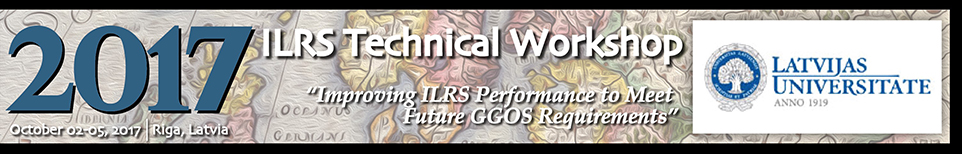 2017 ILRS Technical Workshop banner