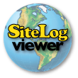 site log viewer logo